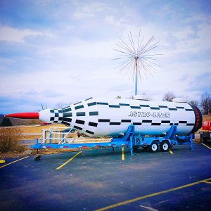Uranus Missouri Astroliner rocket