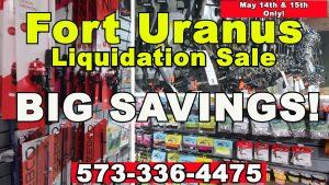 Fort Uranus Liquidation Sale